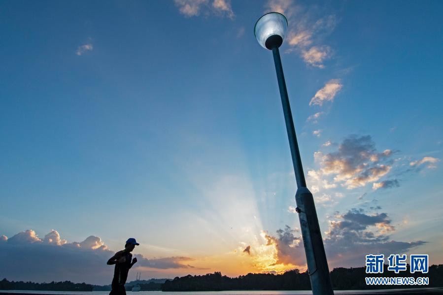 大美!新加坡:日落时分