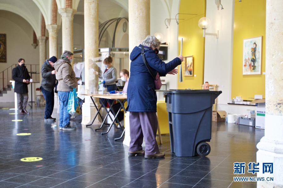 直击:荷兰议会众议院选举投票开始