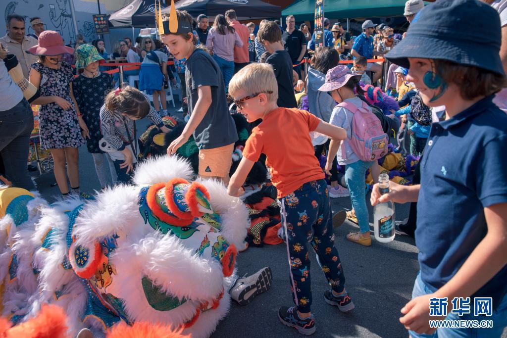 新西兰举行惠灵顿街头艺术节 现场观众超10万人