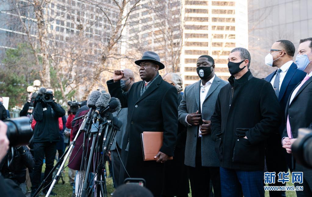 美国非裔男子弗洛伊德被警察暴力执法致死案29日开审