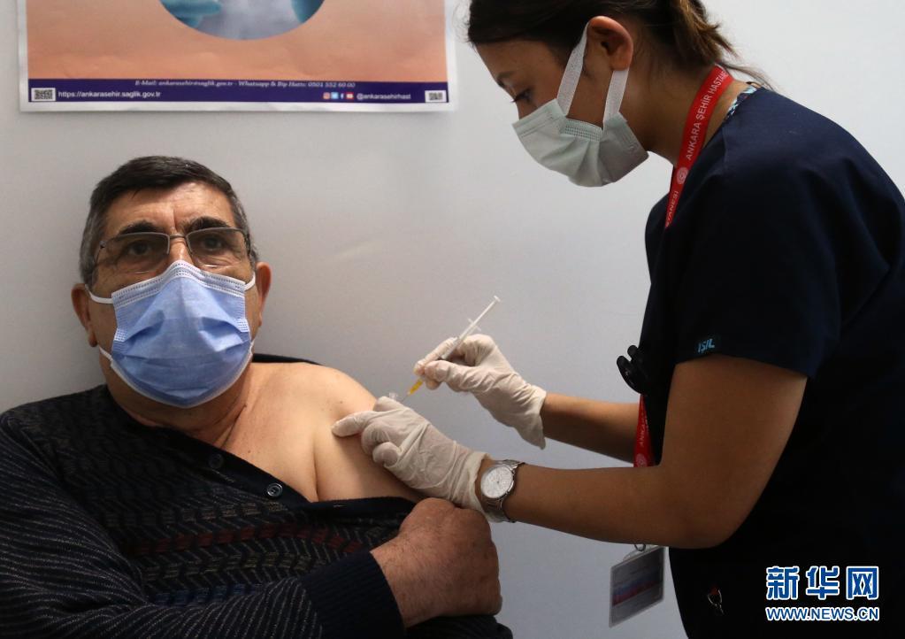 数据:土耳其单日新增新冠确诊病例超5万例