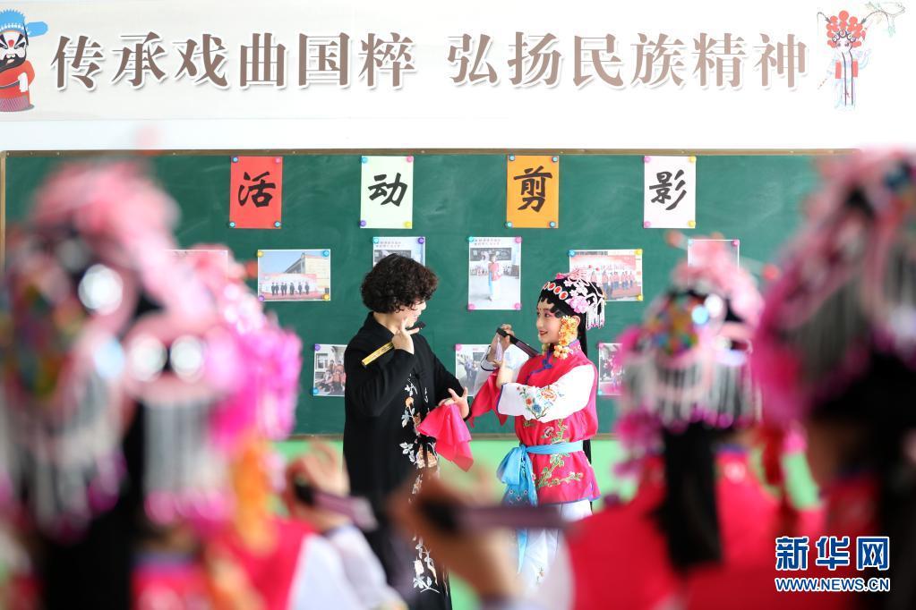 一校一品!河北隆尧:传承京剧艺术 弘扬传统文化