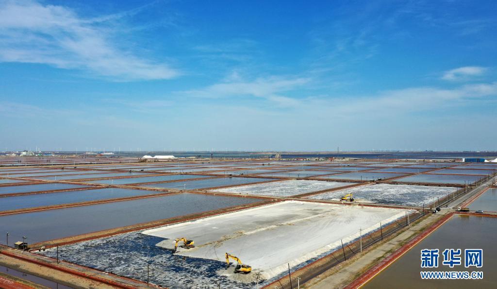 天津:春季收盐忙 预计在5月中旬结束