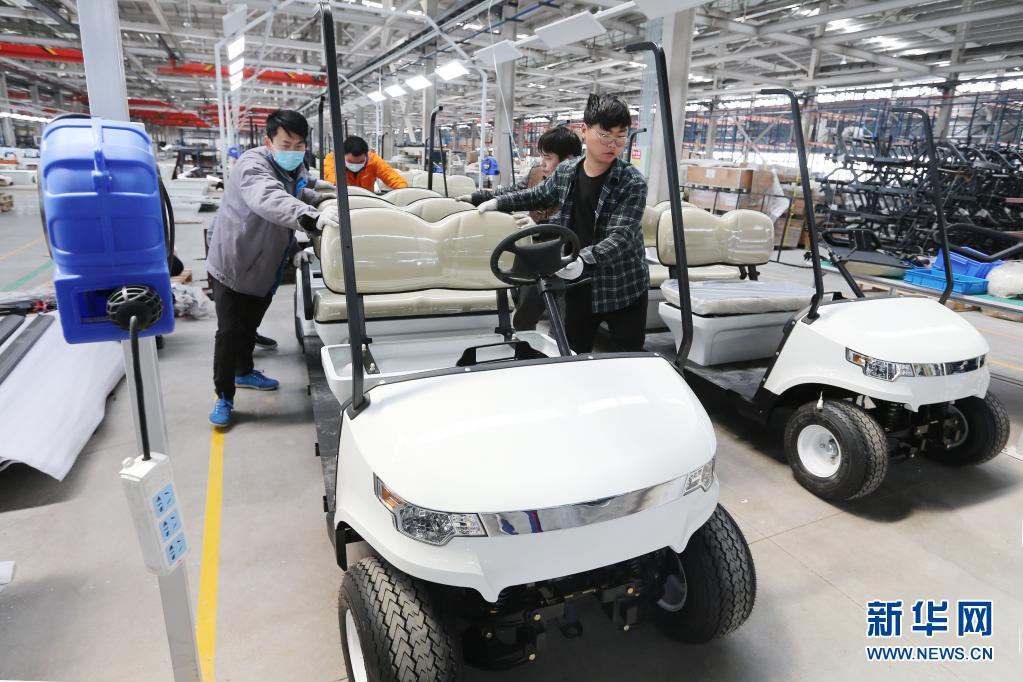 完善产业链!安徽淮北:非公路用电动车生产忙