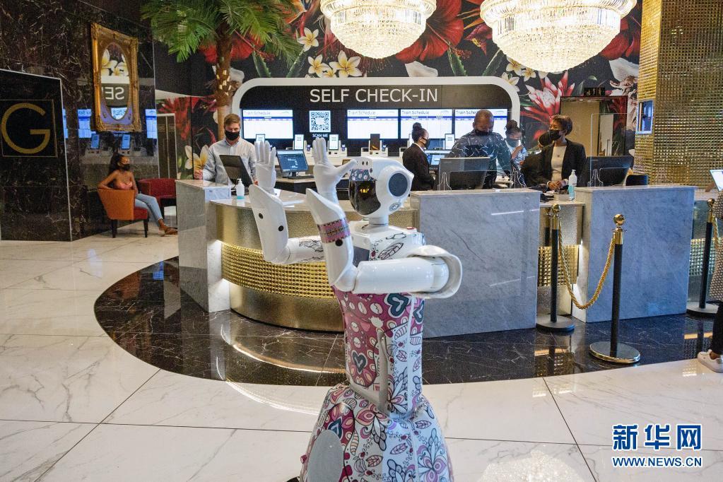 南非约翰内斯堡:酒店引入机器人服务