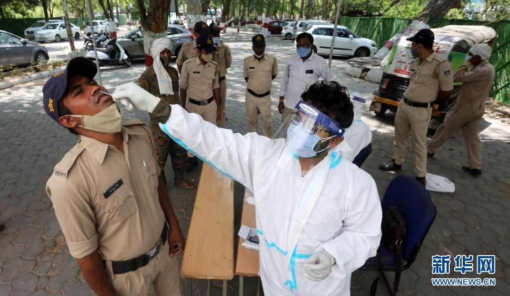 直击 印度:新冠检测