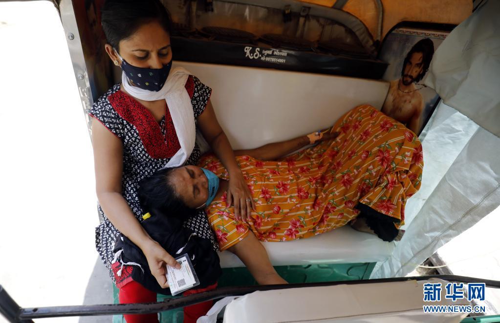 呼吸机等告急 印度新冠死亡病例超过20万