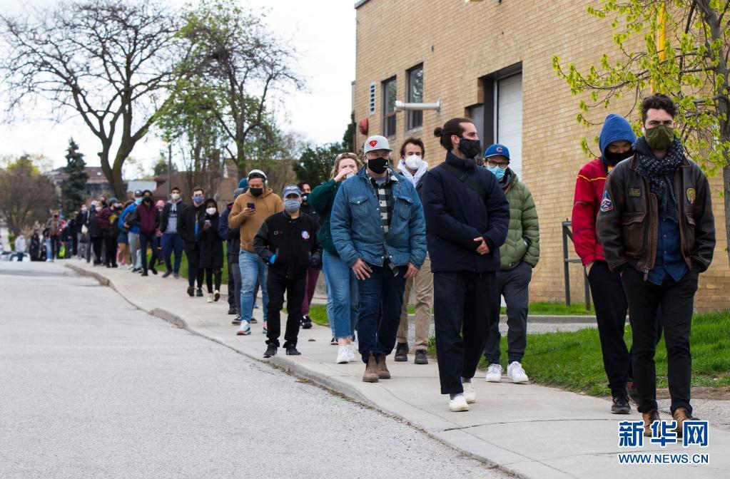 截至5日上午 加拿大累计新冠确诊病例超过125万例