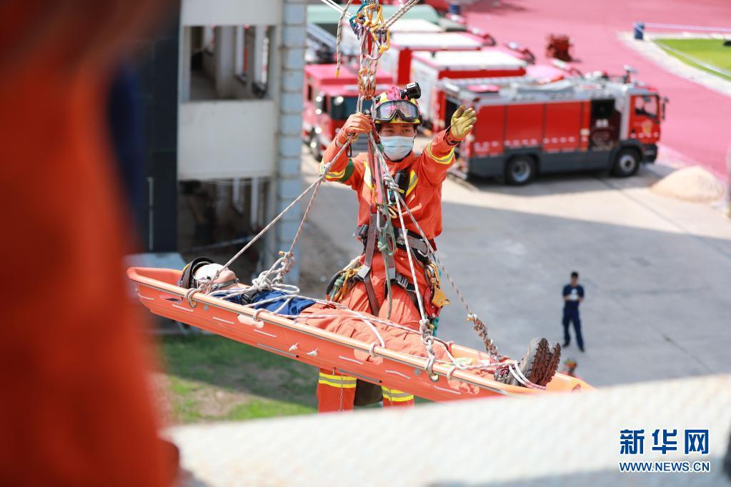 全国防灾减灾日|福建厦门举行地震灾害应急救援演练