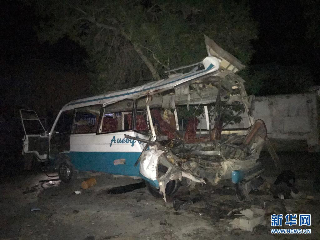 阿富汗首都一公交车遭炸弹袭击造成6死7伤