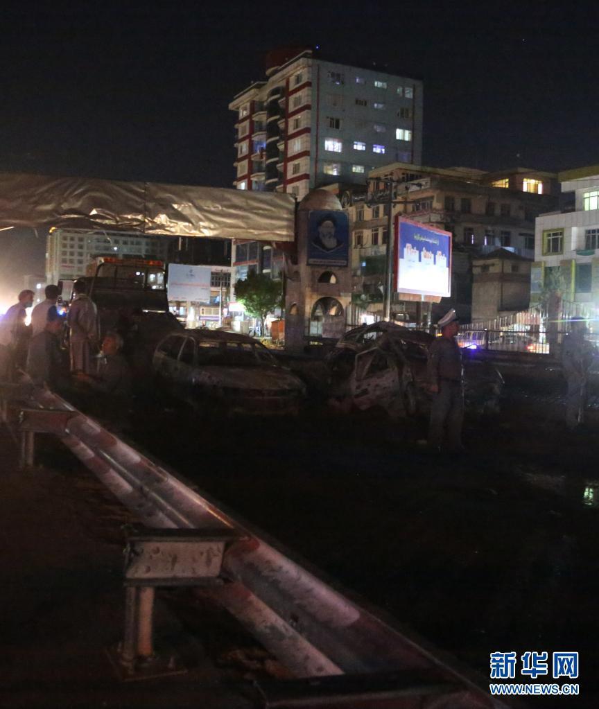 阿富汗首都一公交车遭炸弹袭击造成4死5伤