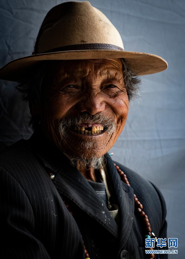 西藏翻身农奴影像档案:朗杰多吉
