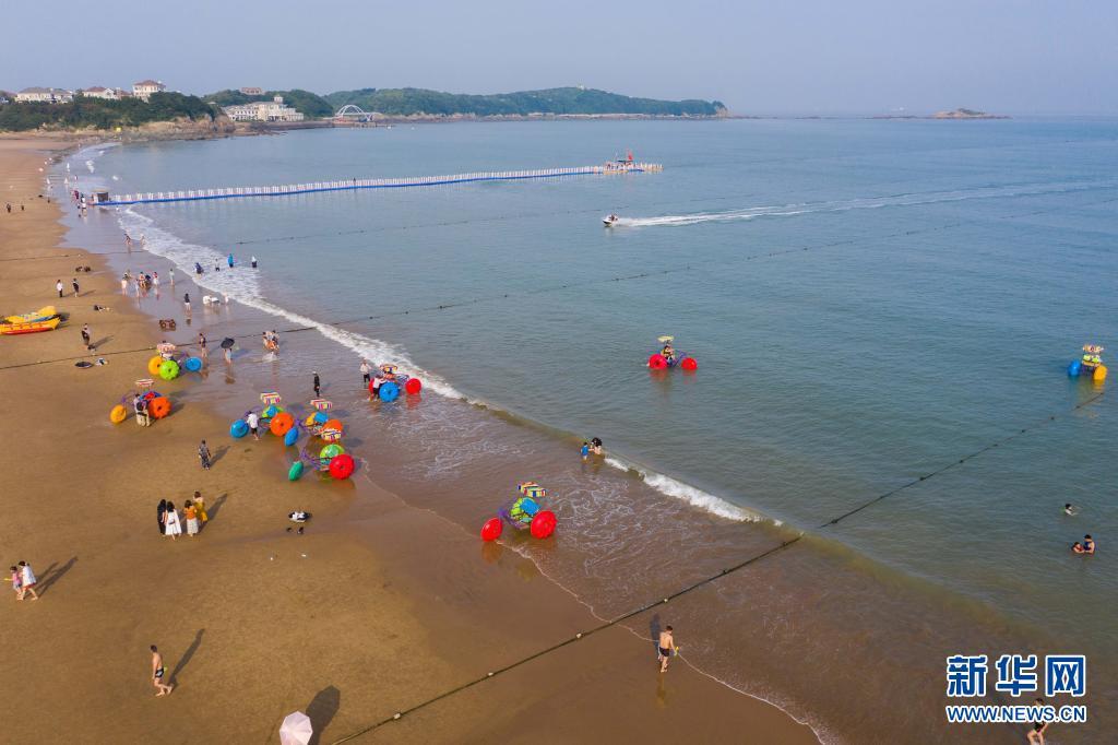 舟山朱家尖:东海之滨享夏日美景