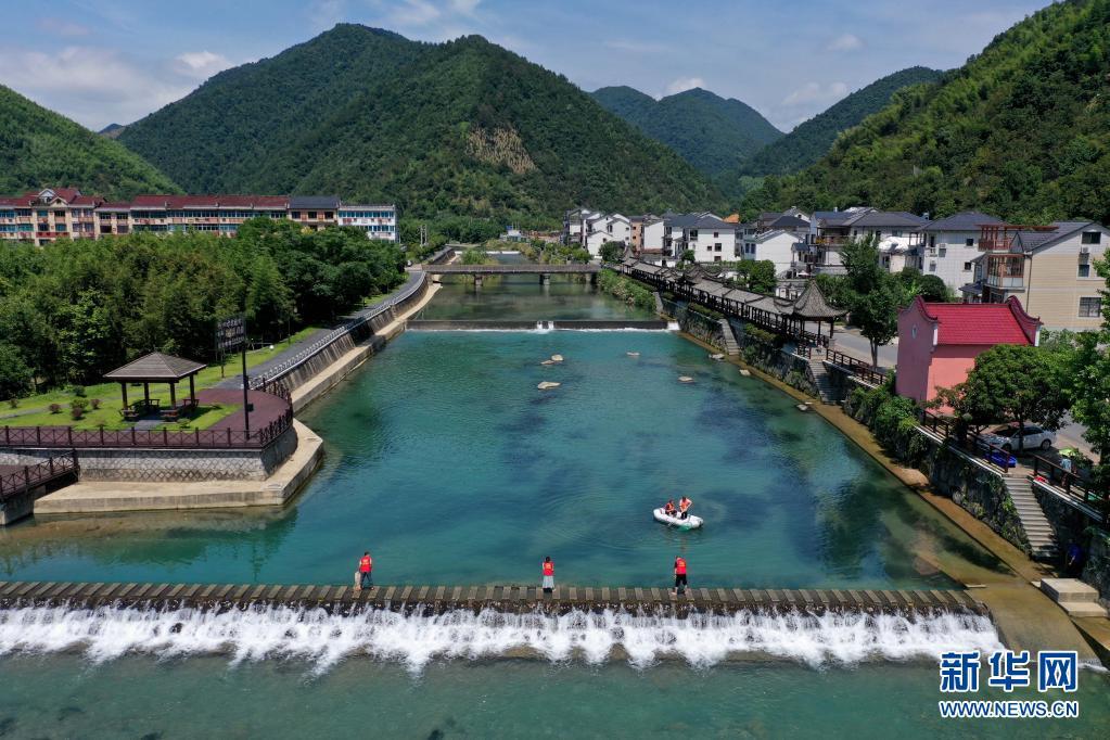 """五水共治!杭州:建设""""幸福河湖"""" 守护水美家园"""