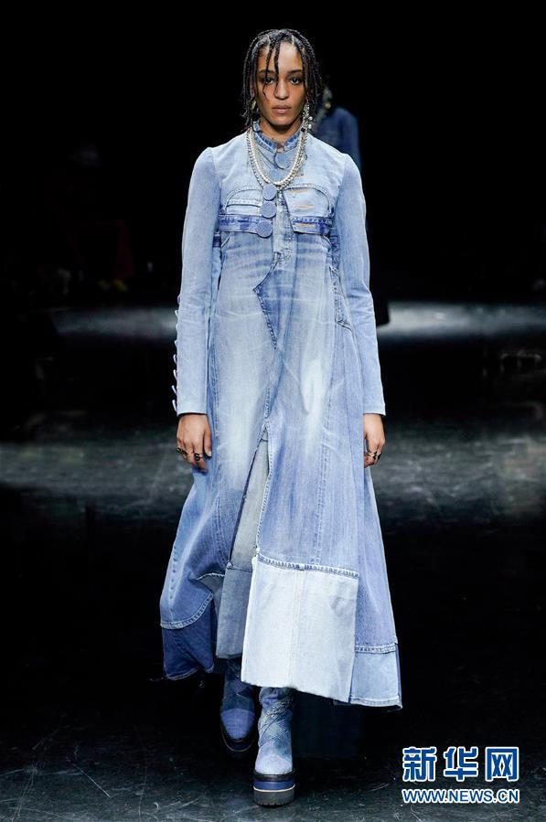 (国际)(3)巴黎时装周:让·保罗·高缇耶品牌发布秋冬高级定制新品