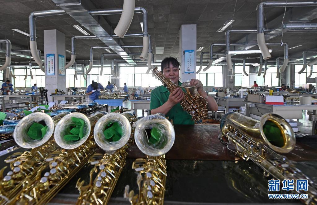 """天津:乐器企业奏响发展""""大乐章"""""""