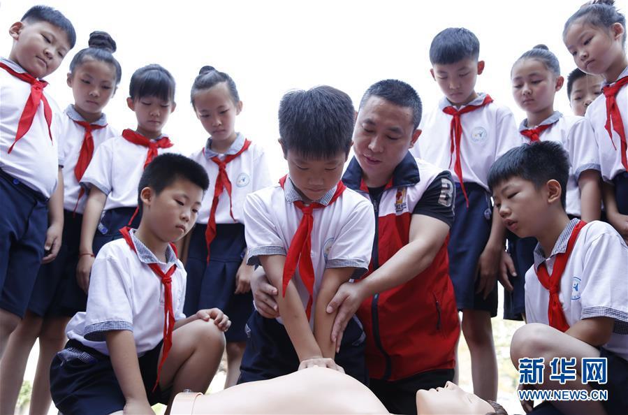 河北邢台:暑期防溺水 安全快乐度暑假
