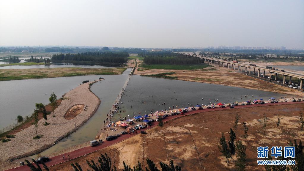 收官之作!滹沱河生态修复三期工程正式通水