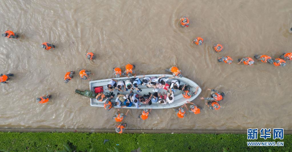 公益捐款、物资援助、志愿服务……社会力量众志成城驰援河南