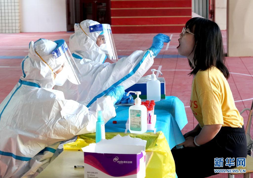 郑州:加紧开展核酸检测