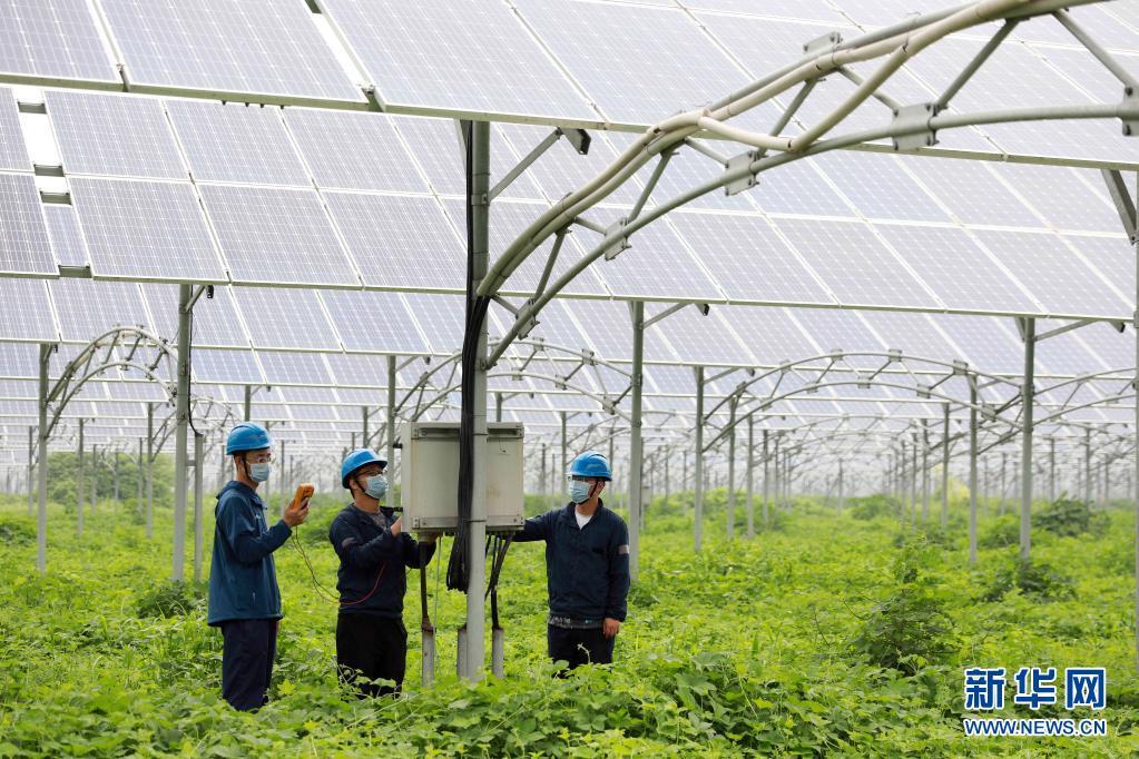 河北邢台:光伏发电助力推广清洁能源