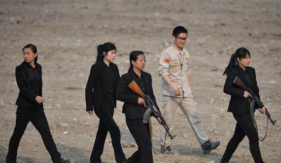 中國私人保鏢訓練營