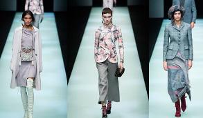 米蘭時裝周:喬治·阿瑪尼發布秋冬女裝新品
