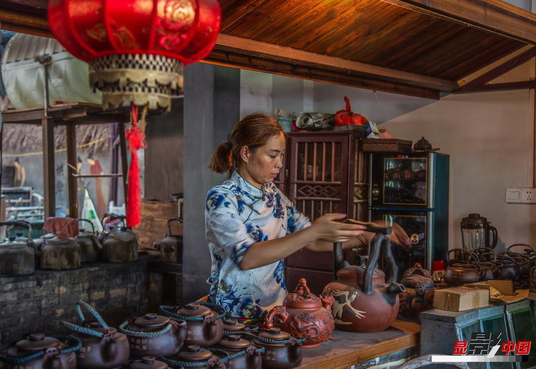 千年古鎮的茶味人生