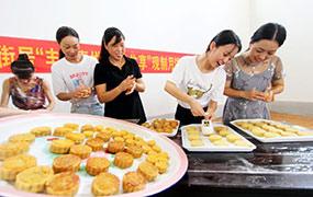手工傳統月餅受歡迎
