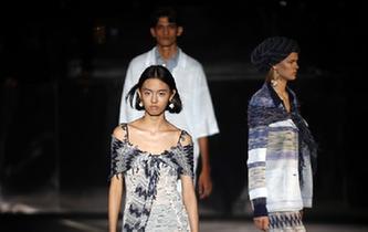 米蘭時裝周:米索尼發布2019春夏新品