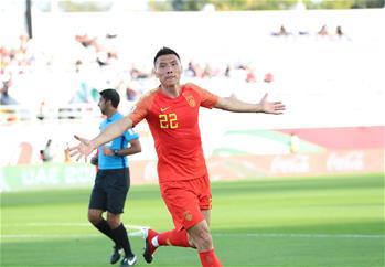 亞洲杯:中國勝吉爾吉斯斯坦