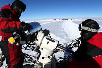 視寧度測量望遠鏡在南極昆侖站完成安裝