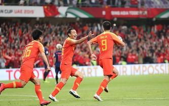 【亞洲杯】中國隊2比1戰勝泰國隊 晉級八強