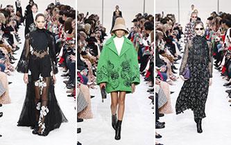巴黎时装周:华伦天奴品牌时装秀