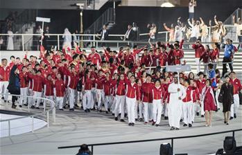 第十五屆世界夏季特殊奧林匹克運動會在阿布扎比開幕