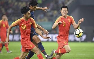 中國杯:中國隊不敵泰國隊