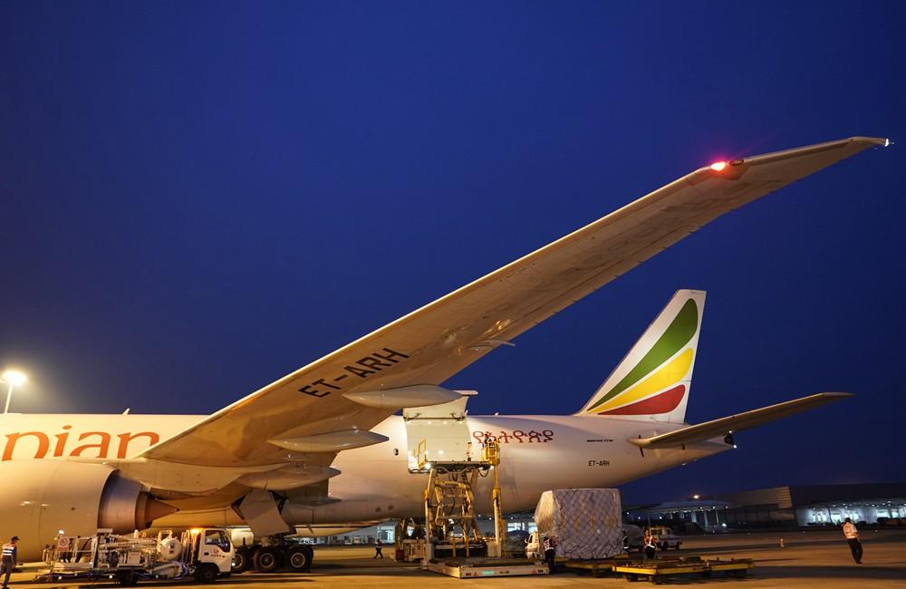 重慶開通首條前往非洲的定期貨運航線