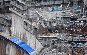 白鶴灘水電站加緊建設