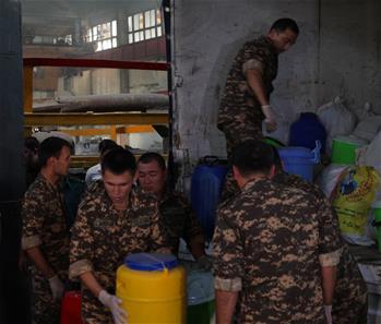 烏茲別克斯坦集中銷毀1噸多各類毒品