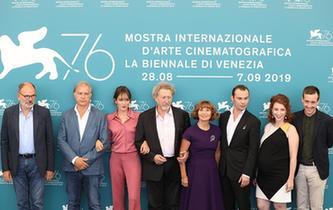 電影《世界的勝利》主創亮相威尼斯電影節