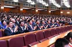 慶祝中華人民共和國成立70周年大型文藝晚會《奮鬥吧 中華兒女》在京舉行