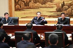 李克強主持召開部分省政府主要負責人經濟形勢座談會