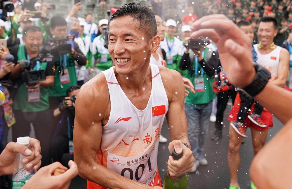軍事五項——男子個人全能:中國選手包攬冠亞軍