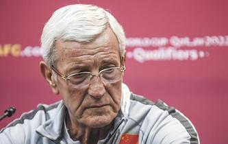世預賽:裏皮宣布辭去中國男足主教練職務