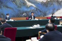 栗戰書出席強化公共衛生法治保障立法修法座談會並講話