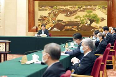 十三屆全國人大常委會第五十一次委員長會議在北京舉行 栗戰書主持