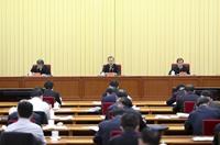 趙樂際出席全國巡視工作會議暨十九屆中央第五輪巡視動員部署會並講話