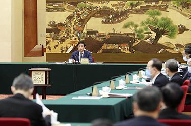 十三屆全國人大常委會舉行第五十四次委員長會議 栗戰書主持