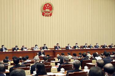 十三屆全國人大常委會第十八次會議在京舉行 審議全國人大常委會工作報告稿 為召開十三屆全國人大三次會議作準備 栗戰書主持