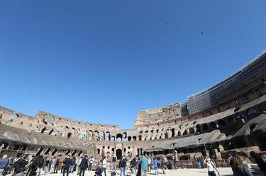 羅馬鬥獸場重新開放